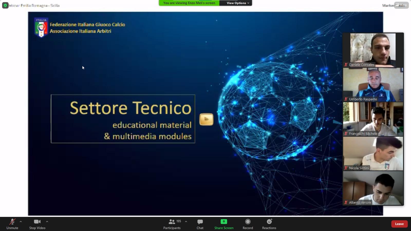 Webinar Emilia Romagna - Sicilia